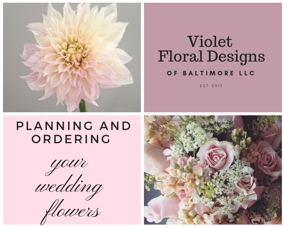 Planning and Ordering Wedding Flowers